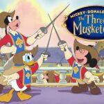 ミッキー、ドナルド、グーフィーの三銃士